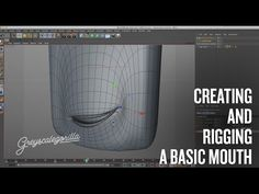 Quick Quick Overview of Rigging a Mouth. - YouTube