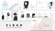 Minimal Clean Creative Keynote Presentation Template