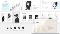 Minimal Clean Creative Keynote Presentation Template