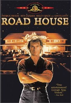 """Road House:  I don't know about Buddha or Jesus or what have you---what I really want to know is """"What would Dalton do?""""   A)  Be nice; B) quote Nietzsche or C) kick a$$"""