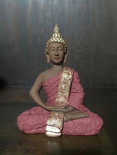 Buda indiano Buddha Zen, Gautama Buddha, Ganesha, Indiana, Buddha Decor, Buddha Sculpture, Bottle Painting, Leila, Buddhism