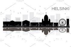 #Helsinki #City #skyline by Igor Sorokin on @creativemarket