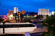 Las Vegas Monorail- I love the monorail! If only it took the trip from the Strip to Fremont!