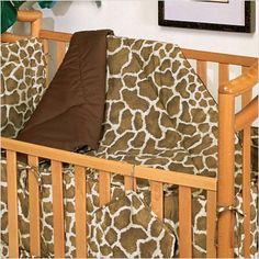Amazon.com: Giraffe Print Crib Comforter: Home & Kitchen