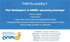 The Association of Network Managers in Education's (ANME) summer events are coming! It's great opportunity to meet others in the role, to network and find out about new solutions. Take a look at the calendar and register to attend!  https://buff.ly/2IJKGpy  AnM Collectibles  #InfoNetTrain #NetSupportSchool #NetworkManagers #Education #SummerEvents #Opportunity