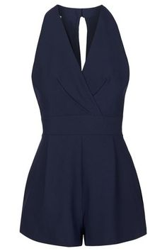**Cross Bust Playsuit By Love