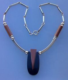 Jakob Bengel Art Deco Necklace (Ref: 6388)