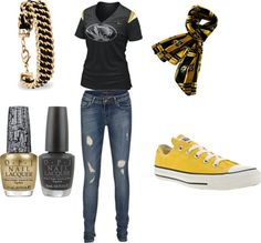 """Missouri Tigers"" by carolines596 on Polyvore"