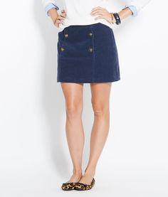 Shop Skirts: Corduroy Sailor Skirt for Women | Vineyard Vines