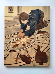 Wood Mosaic, Marquetry, Dns, Pyrography, Disney Characters, Fictional Characters, Disney Princess, Furniture, Scrappy Quilts