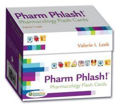 Pharm Phlash Cards!: Pharmacology Flash Cards 2nd ED