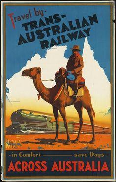 Sisters' Warehouse: Vintage Travel Posters - Poster Vintage di Località Turistiche
