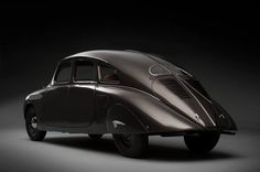 1935 Škoda 935 Dynamic Prototype  The concept vehicle, which was faithfully restored by Škoda, is the world's only surviving example, and had not been seen by the public since October 1935. The now road-worthy Škoda 935 is representative of pioneering vehicle design in the 1930s, and in its time, served Škoda as an innovator in terms of aerodynamics, weight and drive technology. The streamlined concept vehicle was first introduced in October 1935 at the Motor Show in Prague.
