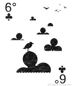 Playing Cards - Six Degrees Could Change the World  - by Tang Yau Hoong