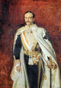 Retrato de Estanislao de Urquijo y Usía. Por Sorolla