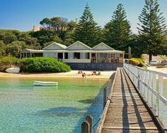 The Baths Restaurant Sorrento Victoria Australia LOVE eating here!