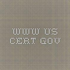 www.us-cert.gov