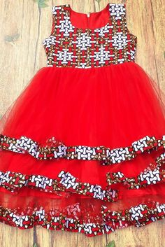 African Dresses For Kids, Latest African Fashion Dresses, African Dresses For Women, Dresses Kids Girl, African Attire, African Print Dress Designs, Kids Gown, Baby Girl Dress Patterns, Afro