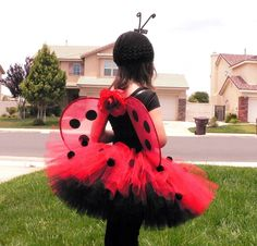 Ladybug Costume- Parkers for next halloween, Im making the costumes