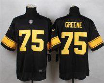 Pittsburgh Steelers  97 Cameron Heyward Black With Yellow Nike NFL Elite  Men s Jersey Pittsburgh Steelers da30d72f1