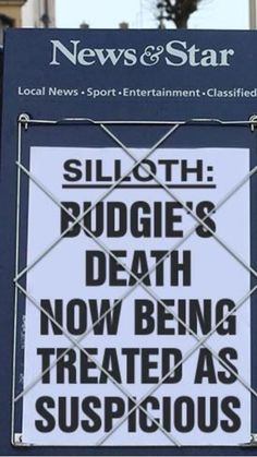 And another hot news story breaking in Silloth