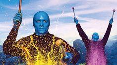 Blue Man Group: uma viagem de música, luzes e criatividade #nyc #blueman