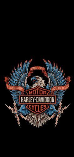 Harley Davidson Logo, Harley Davidson Motorcycles, Grim Reaper Art, Old School Chopper, Motorcycle Wallpaper, Harley Davison, Motorcycle Clubs, Cool Wallpaper, Phone Wallpapers