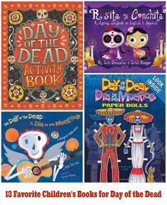 13 Favorite Children's Books for #DayoftheDead #DíadelosMuertos