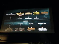 We have always had a plan. Infinity War. Two parts. May 2018/19