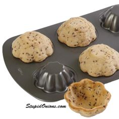 ..bake your cookies on the under side of a muffin pan and make the perfect bowl for your ice cream!!