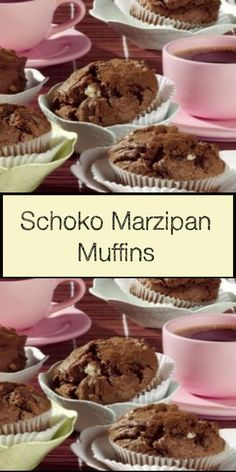 Marzipan Muffins, Donuts, Tart, Cereal, Menu, Snacks, Baking, Breakfast, Desserts