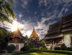 Wat Chiang Man. The first and oldest temple in Chiang Mai, Thailand.
