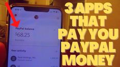 3 Apps That Will Pay You Free PayPal Money (Money Making Apps) Make Mone... Best Money Making Apps, Make Money Blogging, Make Money From Home, Way To Make Money, Make Money Online, How To Make, Apps That Pay You, Surveys For Money, Money Now