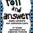 Want a fun, easy way to review the Common Core Math Skills? This is for you! This pdf contains 13 ready to use, self-checking math center games for...