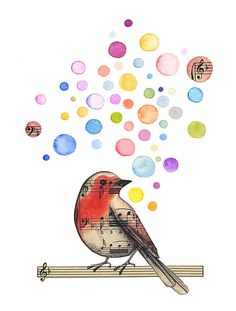 Nothing like the music of birds singing...God's gift to us!