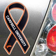 Campbell Fighting Camels Ribbon Magnet