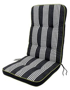 Tuinkussen standenstoel LUTNES zwart | JYSK