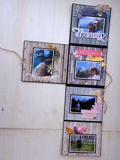 scrapbooking peanuts: Amazing moments Mini Albums Scrap, Mini Scrapbook Albums, Diy And Crafts, Paper Crafts, Album Book, Graphic 45, Craft Items, Brochure Design, Scrapbooking Layouts