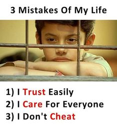 mistakes of my life Trust Care everyone dont cheat Hurting Stressoflife but keep smiling mystery wednesdayvibes Bff Quotes, Attitude Quotes, Friendship Quotes, True Quotes, Words Quotes, Funny Quotes, Sister Quotes, Sayings, Beau Message