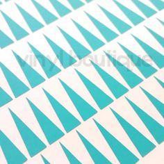 Large triangle stencils