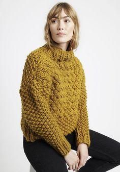 autumn, knit, simple, style, mustard, jumper, fashion