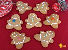 Gingerbread men, omini di pan di zenzero