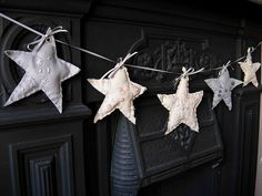 star garland by dolliedaydream