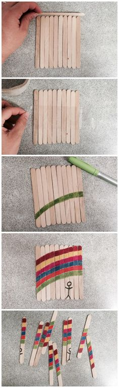 Paddle pop / popsicle stick puzzle - on beafunmum.com