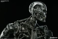 Terminator Terminator T-800 Endoskeleton Maquette by Sidesho   Sideshow Collectibles