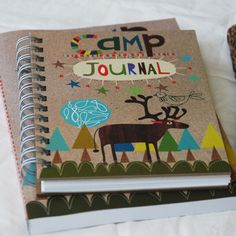camp journals are always a great idea :) maybe for the before/ after waiting time to decorate
