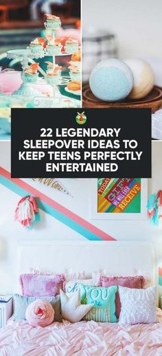Letting your kids decide what to do at their sleepover party is important but making sure they don't get bored or frustrated and do something they are not supposed to,is also key. To help you decide, here are 22 legendary sleepover ideas to pick from.