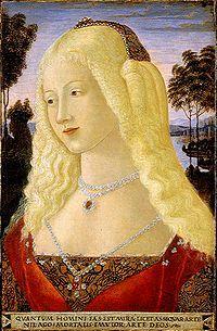 Neroccio di Bartolomeo de' Landi - Ritratto di donna (Portrait of a Lady) (1485) - Google Search
