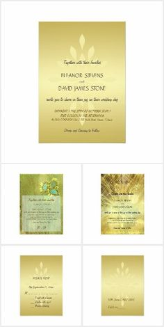 Golden Chic Wedding for luxury glamorous weddings, night classy elegant celebrations #zazzle #wedding
