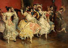 Leopold Schmutzler (1864-1941) - The minuet